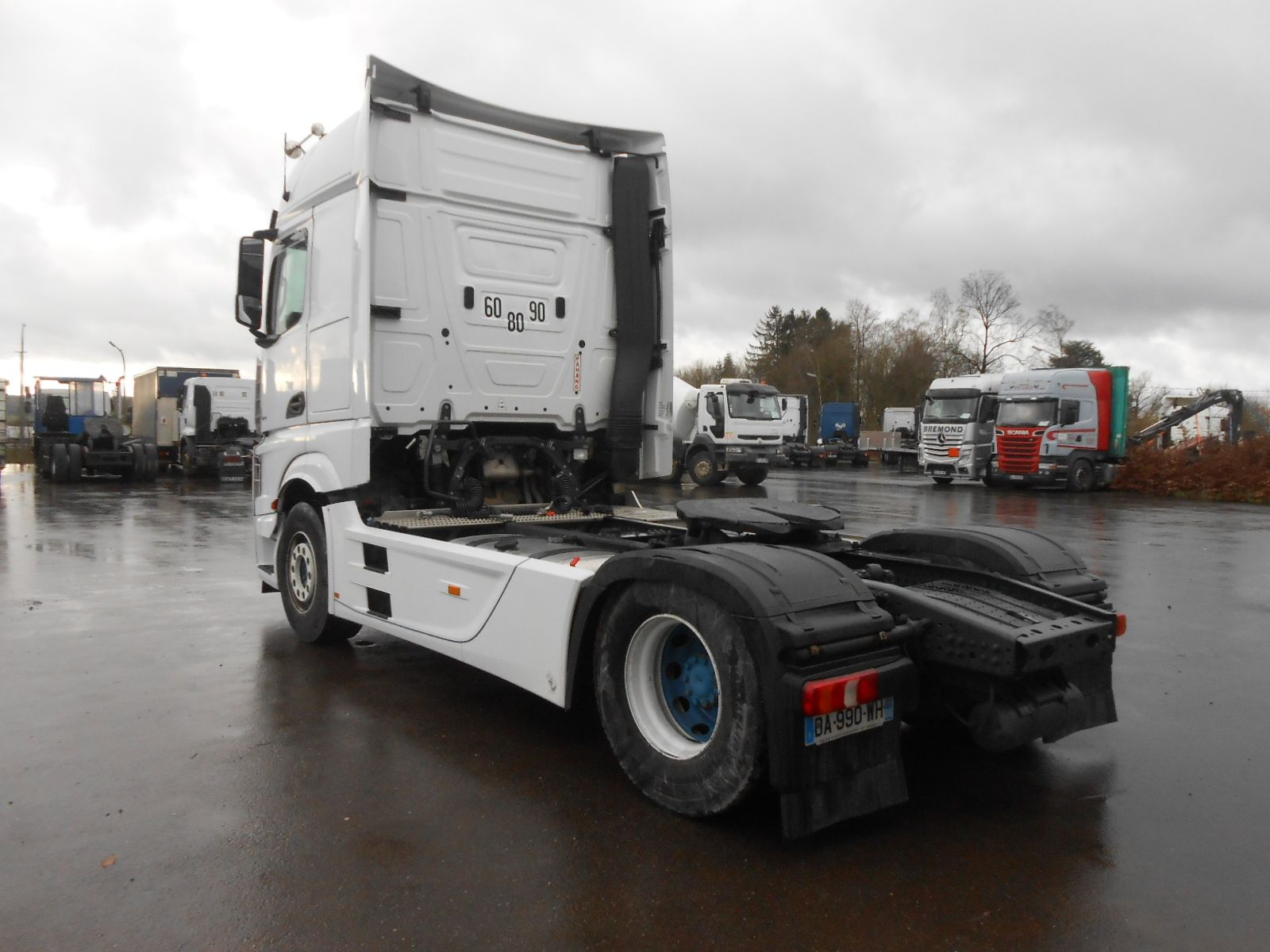 Vente occasion  Tracteur - MERCEDES Actros 1851  TRACTEUR (Belgique - Europe) - Houffalize Trading s.a.