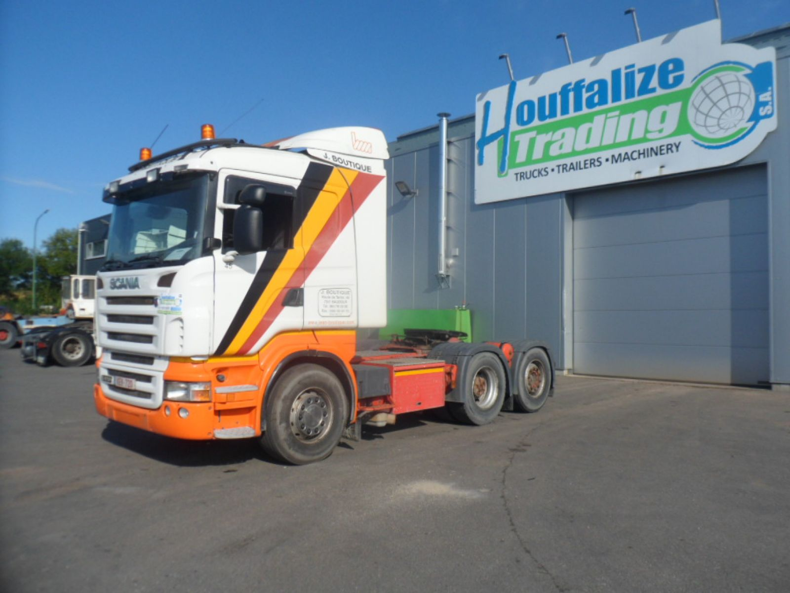 Second hand saleTractor units - SCANIA R470  Tracteur (Belgique - Europe) - Houffalize Trading s.a.
