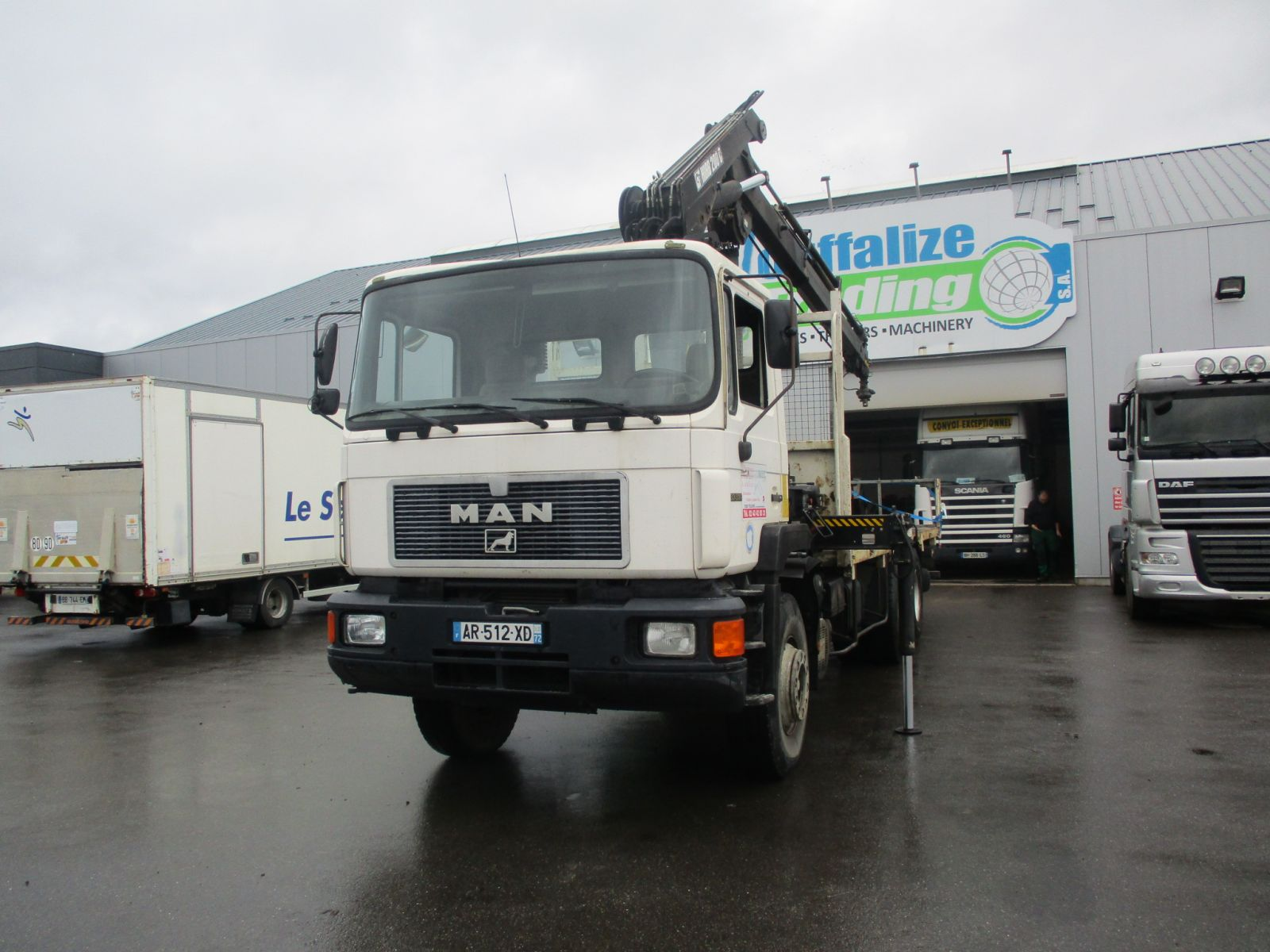 Second hand sale Truck units - MAN 33.372  PLATEAU (Belgique - Europe) - Houffalize Trading s.a.