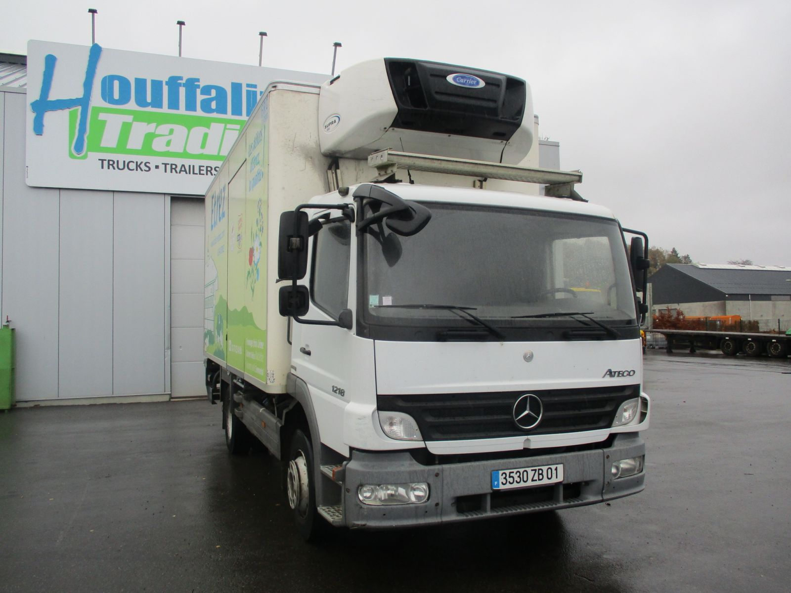 Vente occasion Porteur - MERCEDES ATEGO 1218 Camion (Belgique - Europe) - Houffalize Trading s.a.