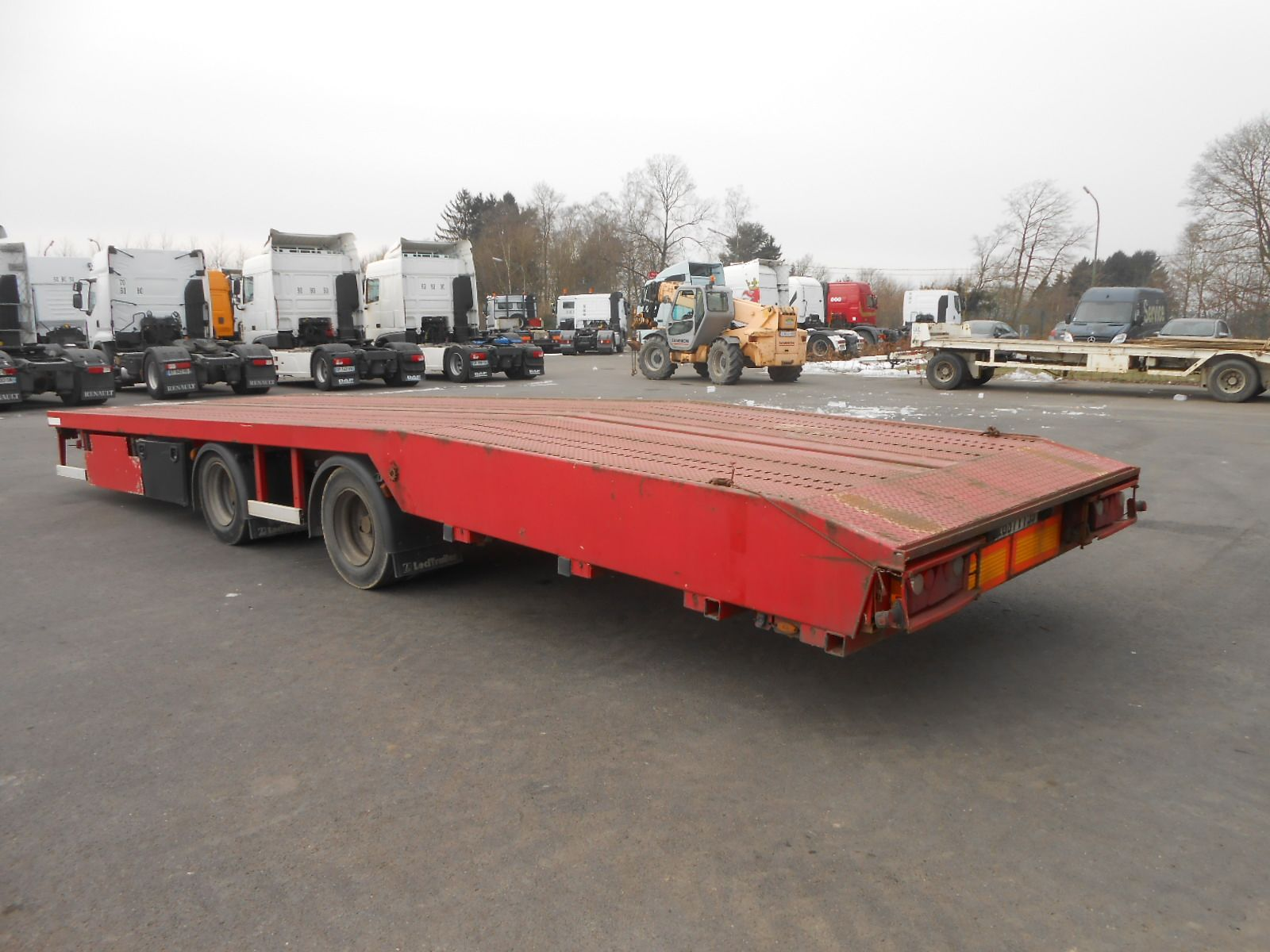 Second hand sale Semi-trailer - LECITRAILER     (Belgique - Europe) - Houffalize Trading s.a.