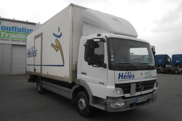 Truck units - MERCEDES ATEGO 918 FOURGON (Belgique - Europe) - Houffalize Trading s.a.
