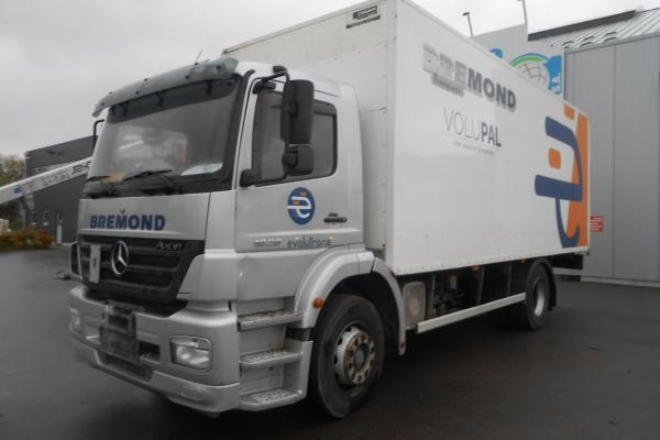 Vente occasion Porteur - MERCEDES AXOR 1828 FOURGON (Belgique - Europe) - Houffalize Trading s.a.