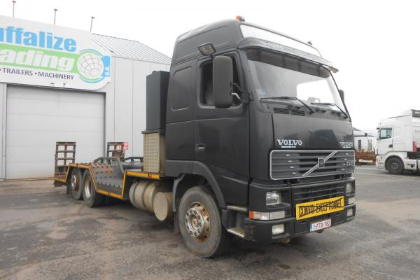 Truck units - VOLVO FH12 420  Camion porte-engin (Belgique - Europe) - Houffalize Trading s.a.