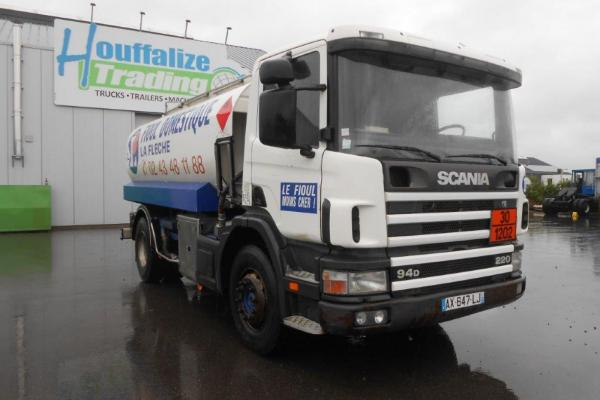 Truck units - SCANIA 94D 220  CITERNE (Belgique - Europe) - Houffalize Trading s.a.