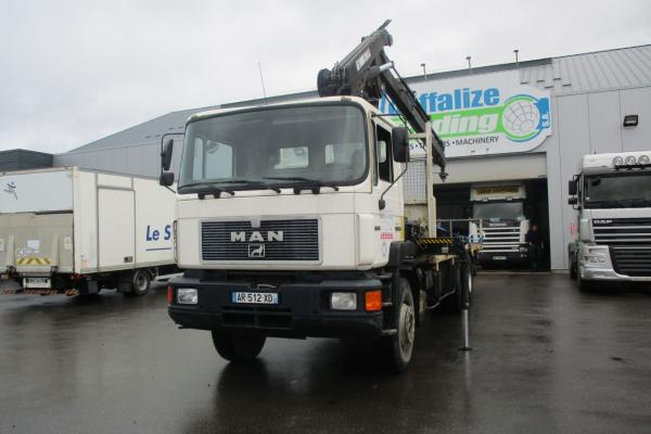 Second hand saleTruck units - MAN 33.372  PLATEAU (Belgique - Europe) - Houffalize Trading s.a.