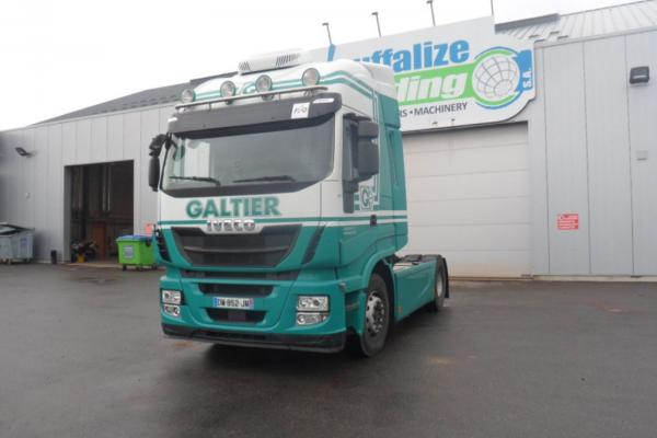 Vente occasion Tracteur - IVECO STRALIS 480  Tracteur (Belgique - Europe) - Houffalize Trading s.a.