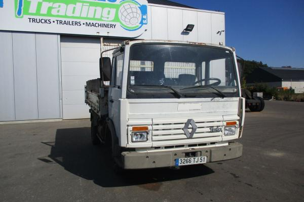 Vente occasion Porteur - RENAULT S 100  Benne (Belgique - Europe) - Houffalize Trading s.a.