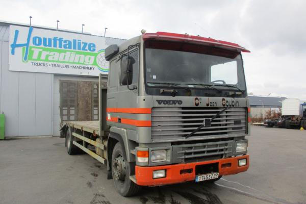 Vente occasion Porteur - VOLVO F12  PLATEAU (Belgique - Europe) - Houffalize Trading s.a.