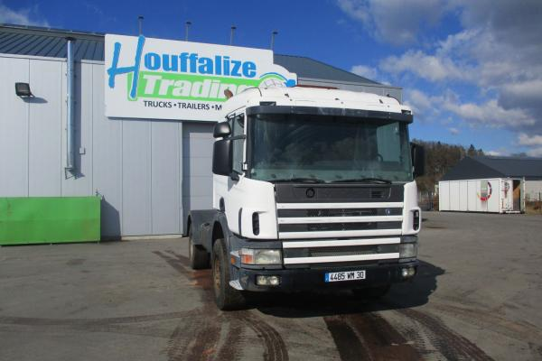 Vente occasion Tracteur - SCANIA 124 360 LAMES TRACTEUR (Belgique - Europe) - Houffalize Trading s.a.